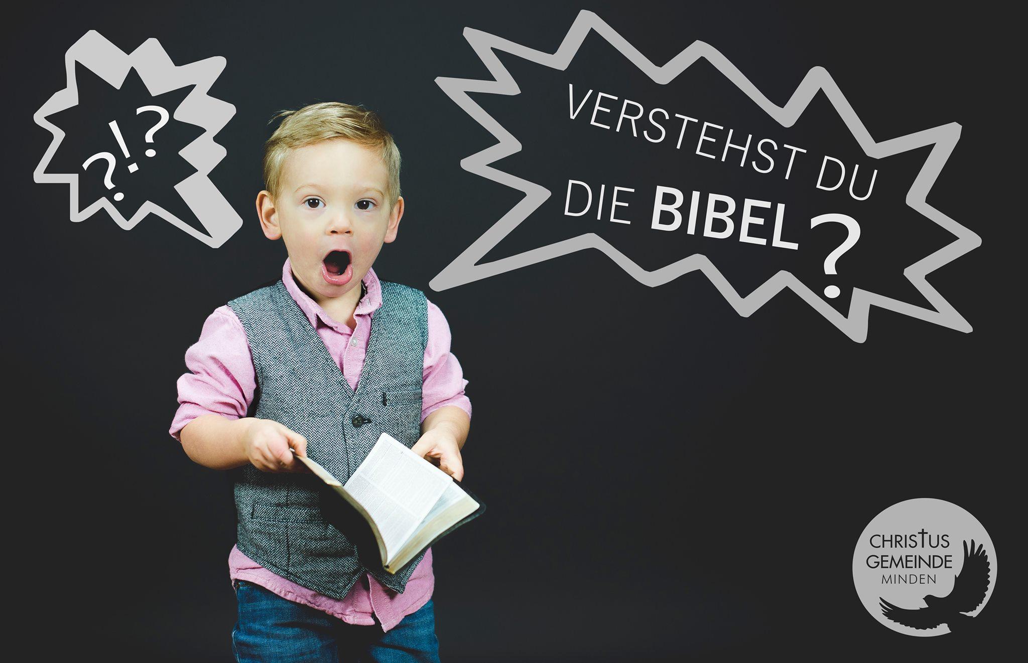 Verstehst du die Bibel?