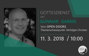 Gottesdienst mit Gunnar Garms (Open Doors)