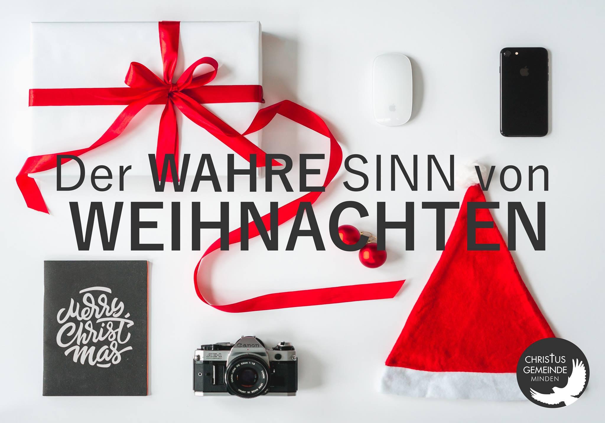 Der wahre Sinn von Weihnachten