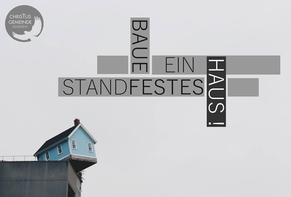Baue ein standfestes Haus