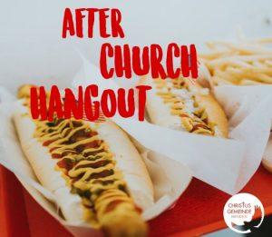 After Church Hangout