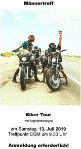 Männertreff - Biker-Tour mit Begleitfahrzeugen nach Verden an der Aller