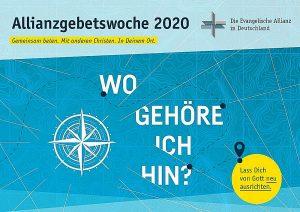 Allianzgebetswoche 2020 in der Christus-Gemeinde