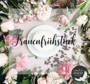Frauenfrühstück -  Frühstück Hofapotheke-Bückeburg