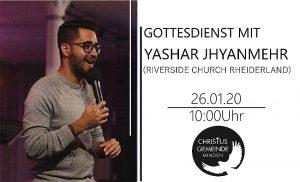 Gottesdienst mit Pastor Yashar Jhyanmehr (Riverside Church Rheiderland)