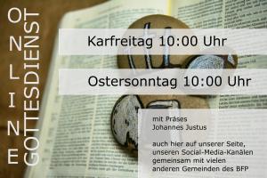 Ostergottesdienste online